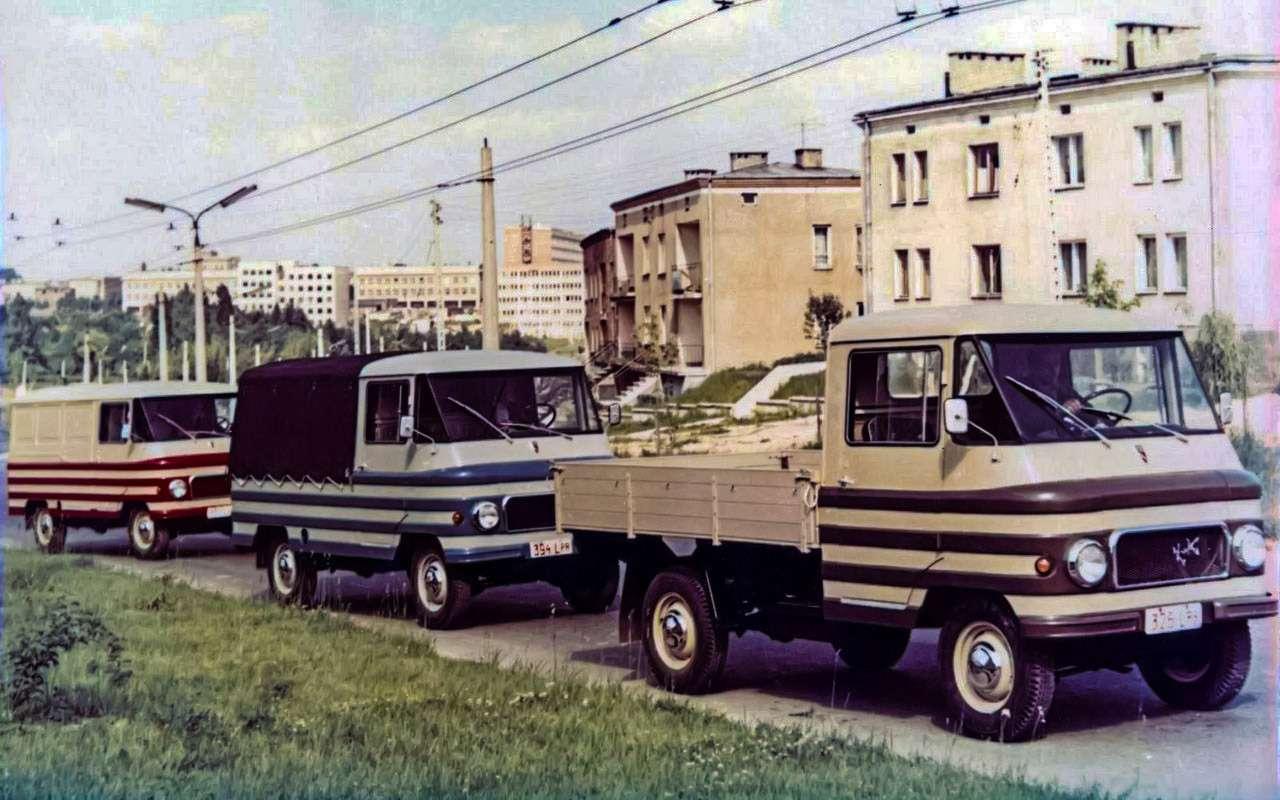 Наши заграницей: вочто превращались автомобили СССР вКитае, Корее, наКубе— фото 963671