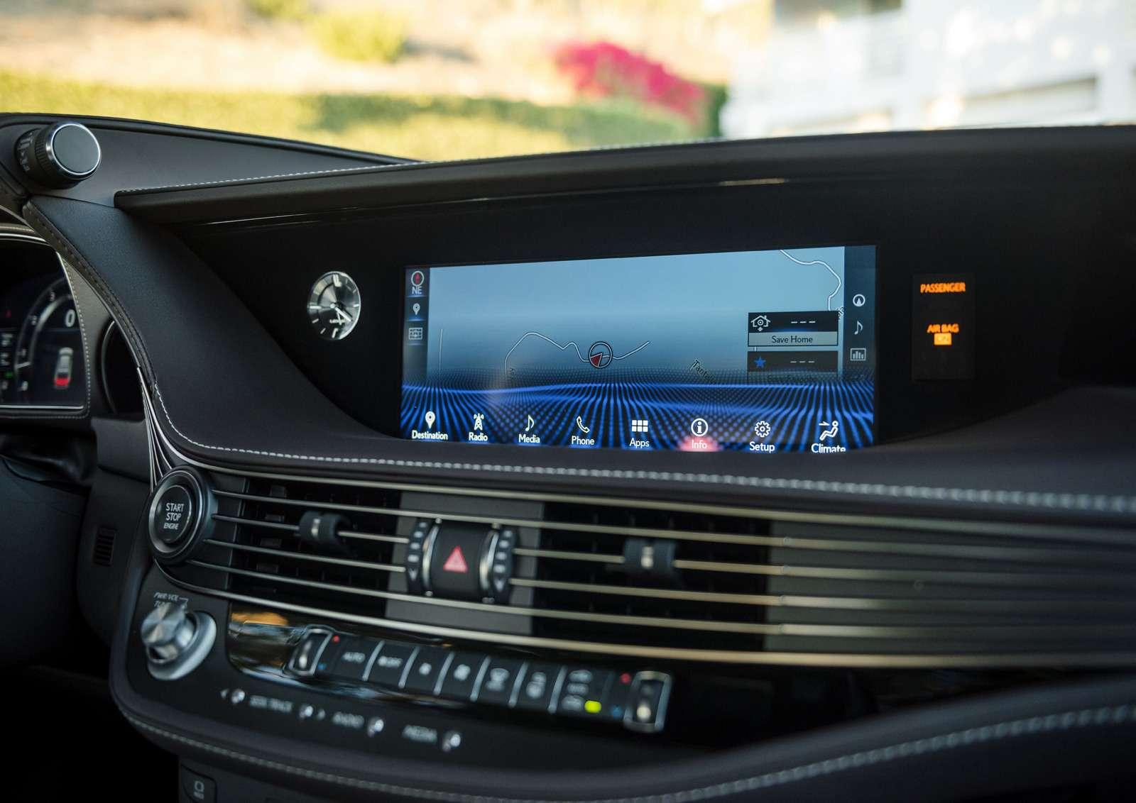 Проглотить S-класс: вДетройте дебютировал новый Lexus LS— фото 690271