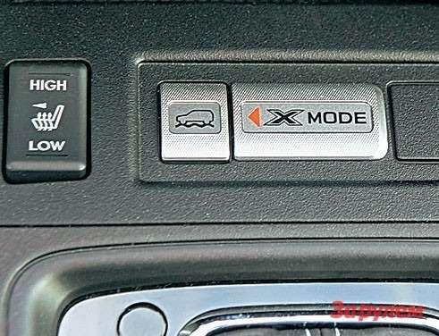 Система Х-Mode— особенность версий свариатором. Она призвана улучшить ходовые качества надорогах сплохим покрытием.