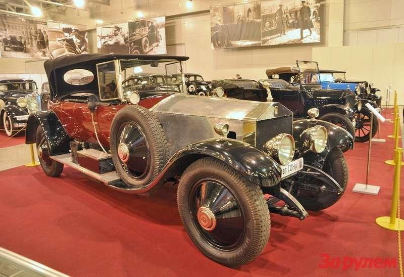 Rolls-Royce 40/50 Silver Ghost (1906-1925 г.в.)