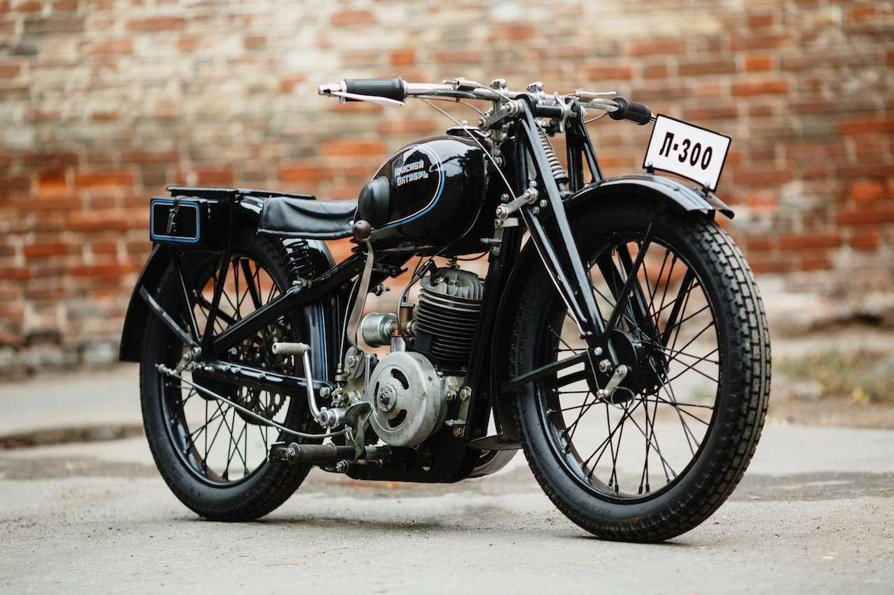 Первый серийный советский мотоцикл: история одной копии— фото 908502