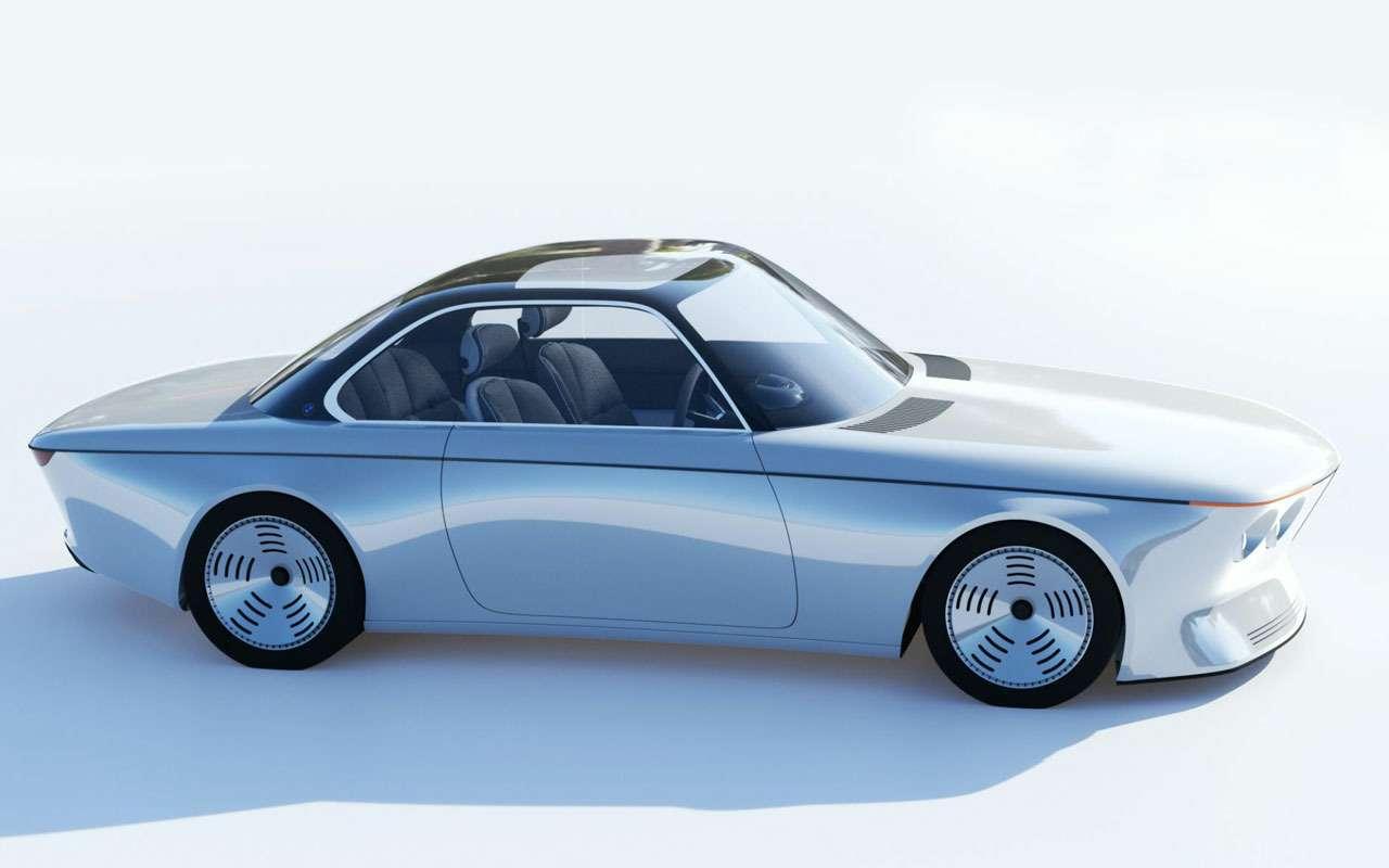 Дизайнер Ford нарисовал BMW будущего. Выглядит странно— фото 1198902