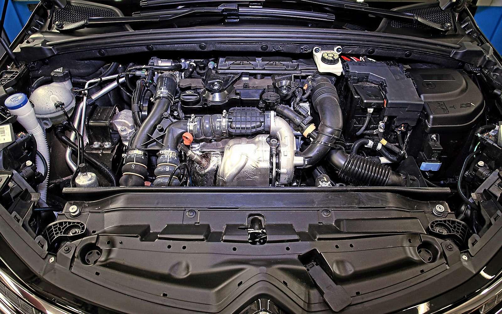 Дизельный двигатель обновленного Citroen c4