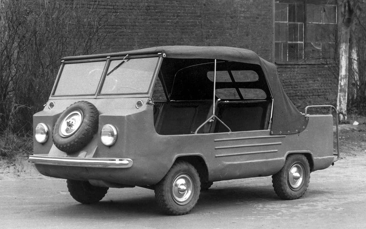 Народные автомобили СССР: вот кто был доЗапорожца!— фото 1253112