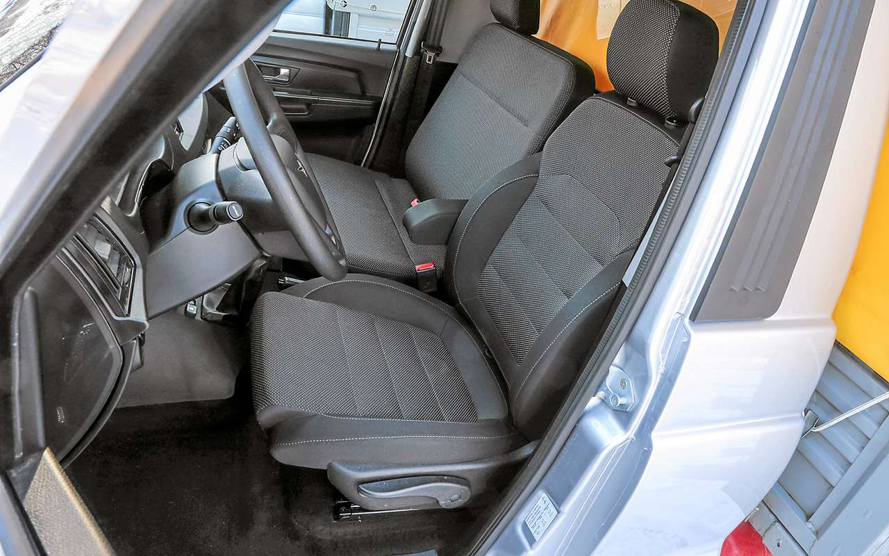 6-колесный УАЗ Профи— тест особой версии— фото 1247201