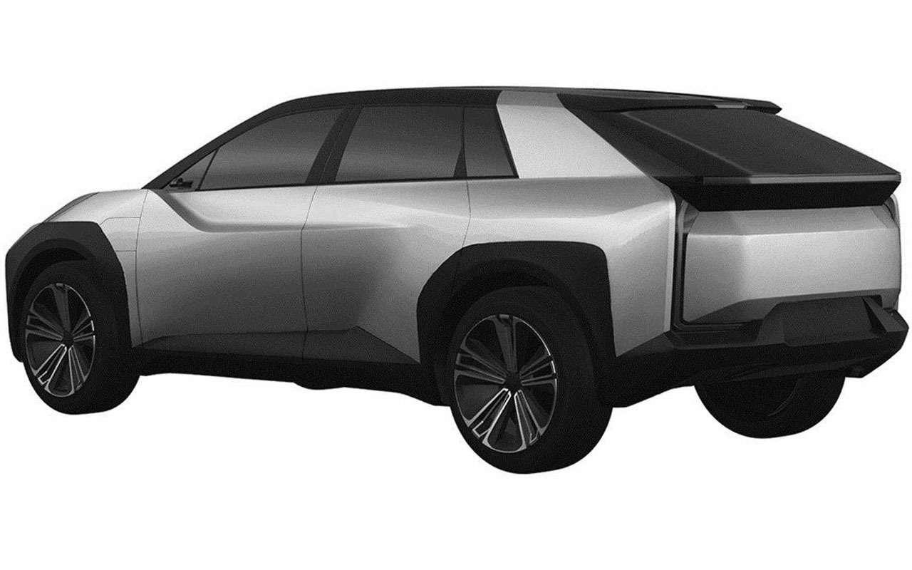 Новый Toyota BZ— патентные изображения— фото 1209426