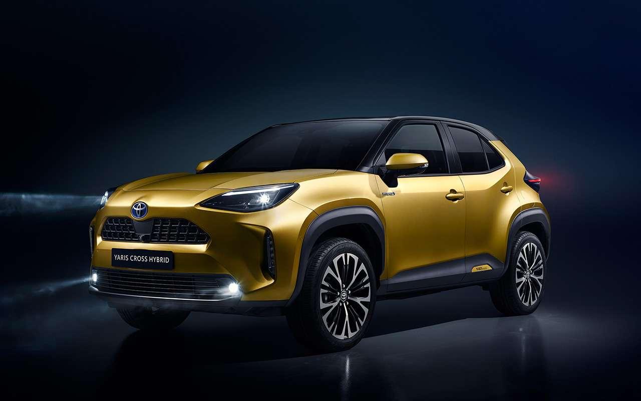 Ждем в России: 5 новых моделей Toyota