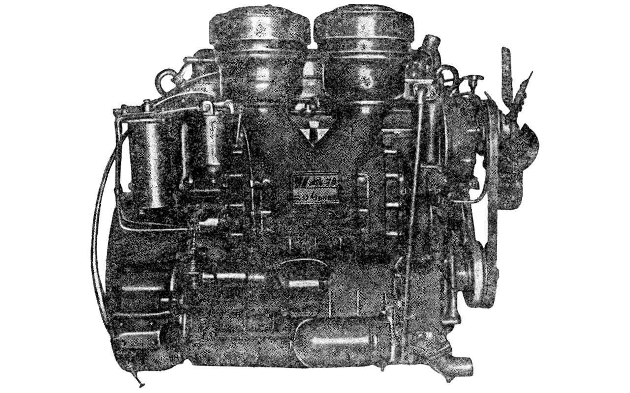 Первый советский дизельный грузовик ЯАЗ-200 — он родом из Америки