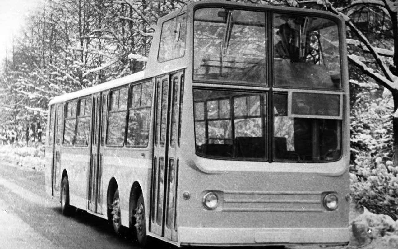 Автобусы изСССР— серийные иэкспериментальные— фото 1035337