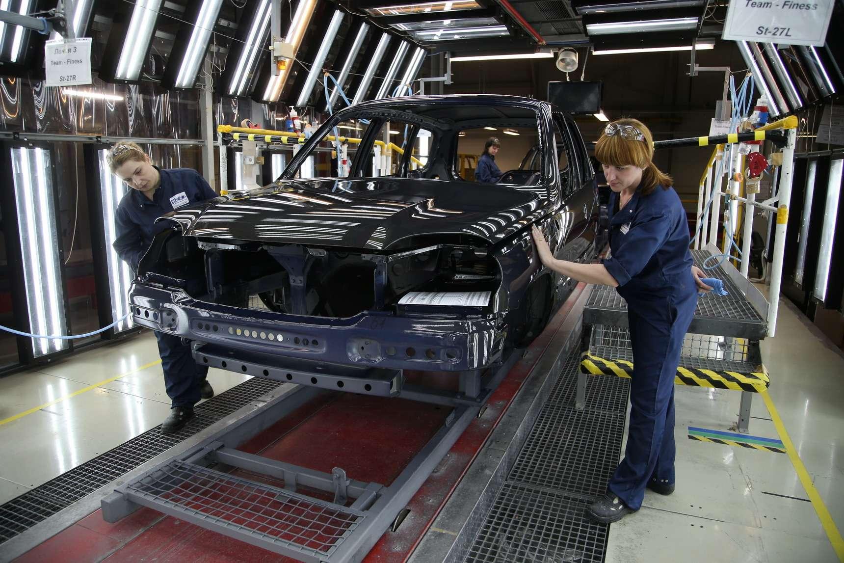 Каккрасят Chevrolet Niva: самый секретный цех СПGM-АВТОВАЗ— фото 582262
