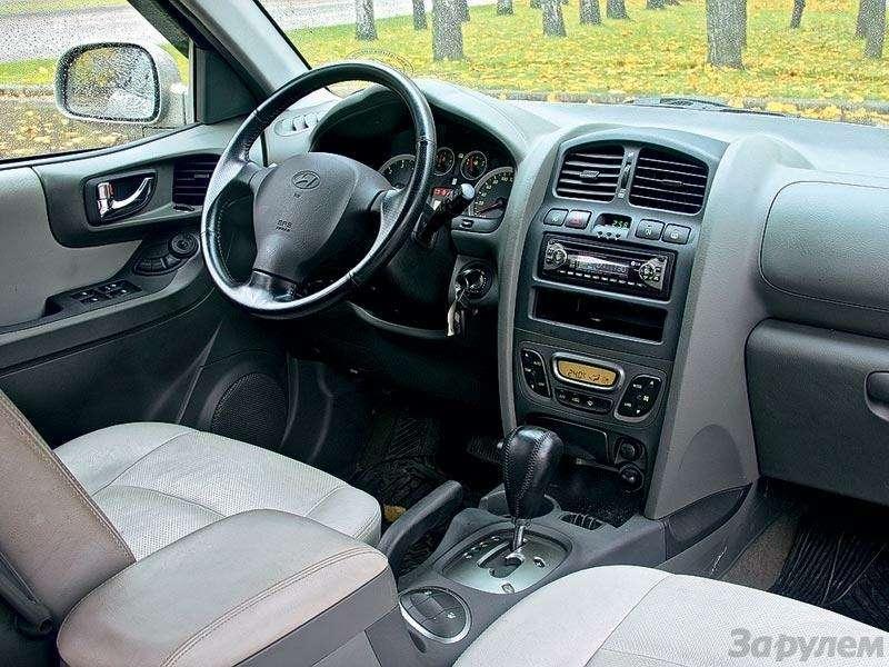 Комплектация Hyundai Santa Fe: Говорящая фамилия— фото 90653