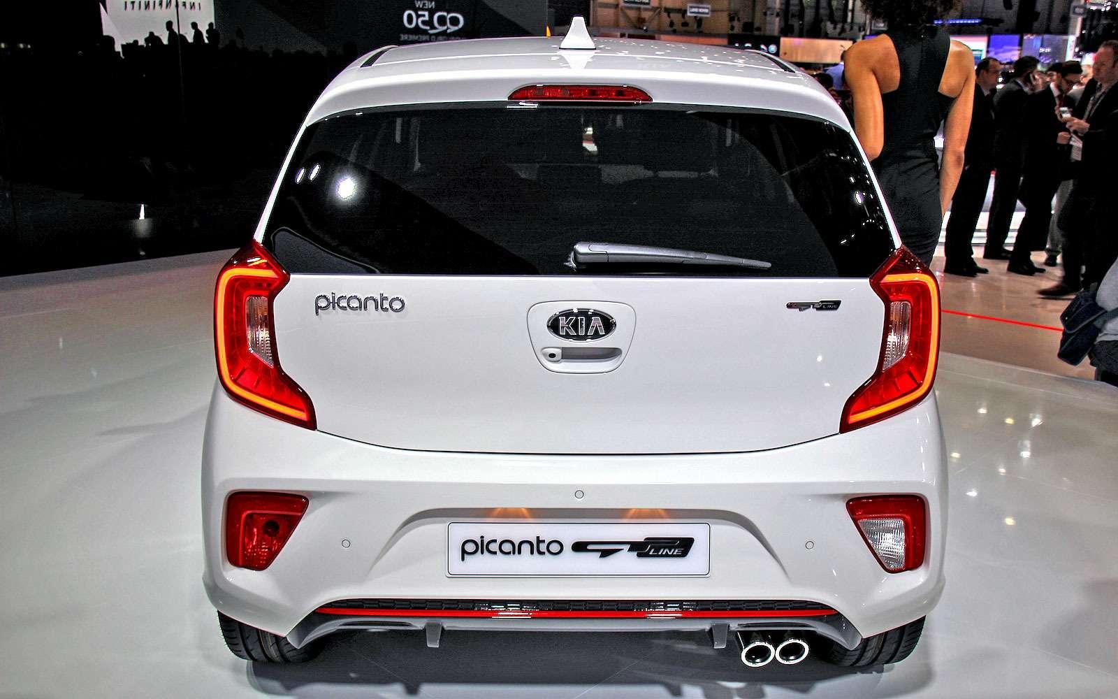 Новая Kia Picanto: вРоссии— летом— фото 717394