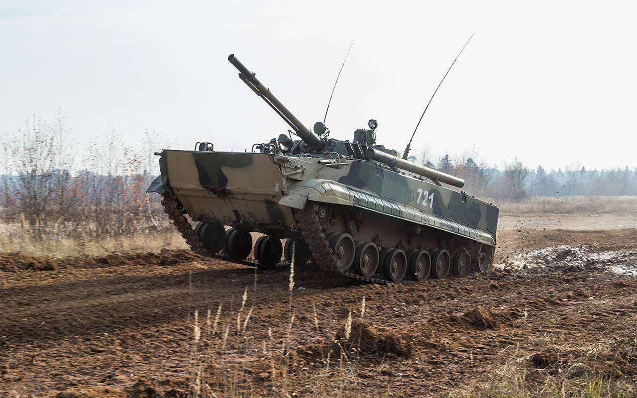 Наша БМП-3 против британского Warrior: артиллерийская дуэль— фото 857758