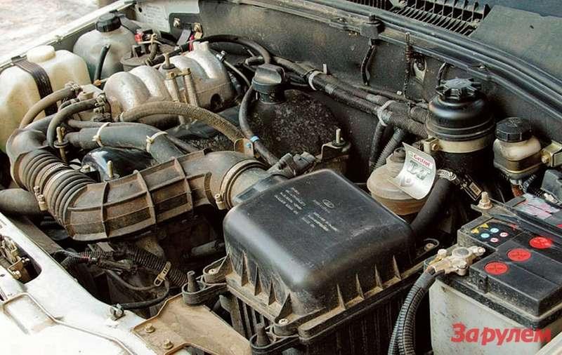 Двигатель шевроле нива ремонт