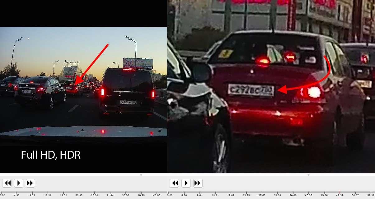 Видеорегистраторы TrendVision TDR-718GP иMR-710GP: взеркальном отражении— фото 387617