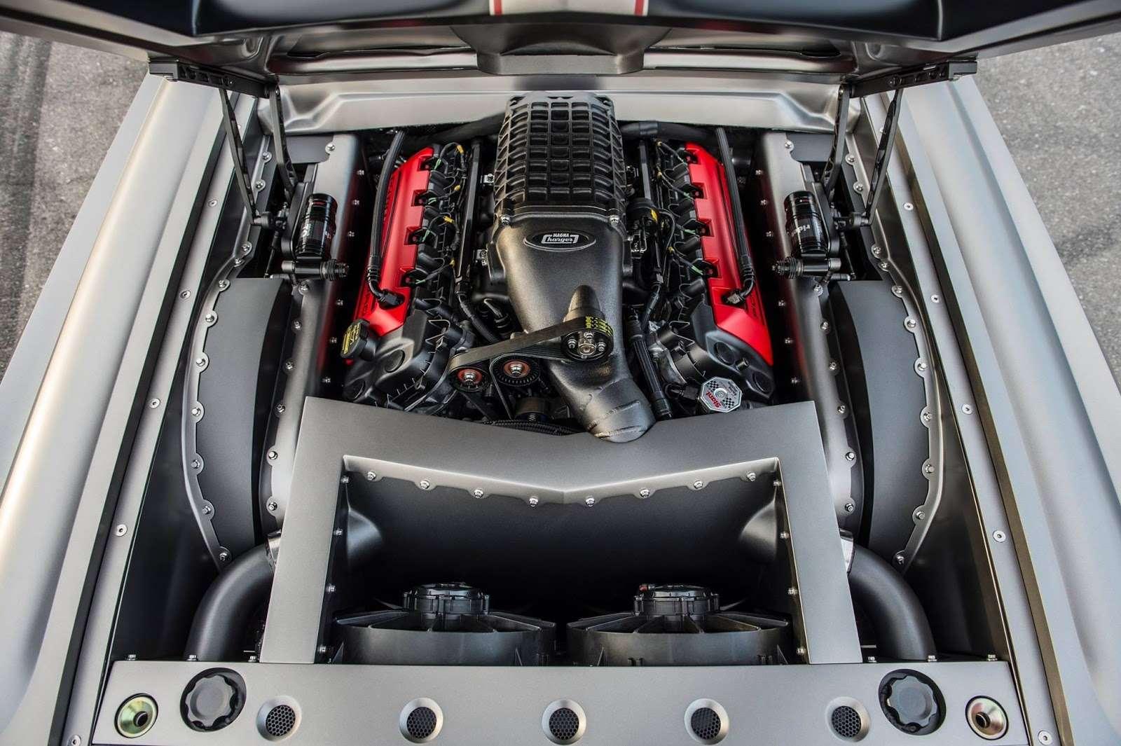 Конь Горыныч: 1000-сильный Ford Mustang стройным наддувом— фото 658604