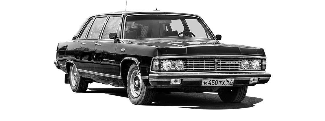 Тест машины, которую никогда не продавали: Чайка ГАЗ‑14— фото 998659