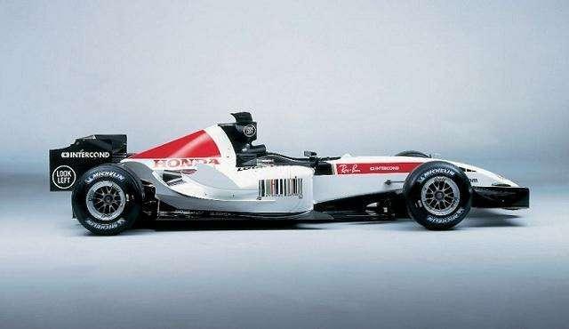 nocopyright Honda Formula 1side view