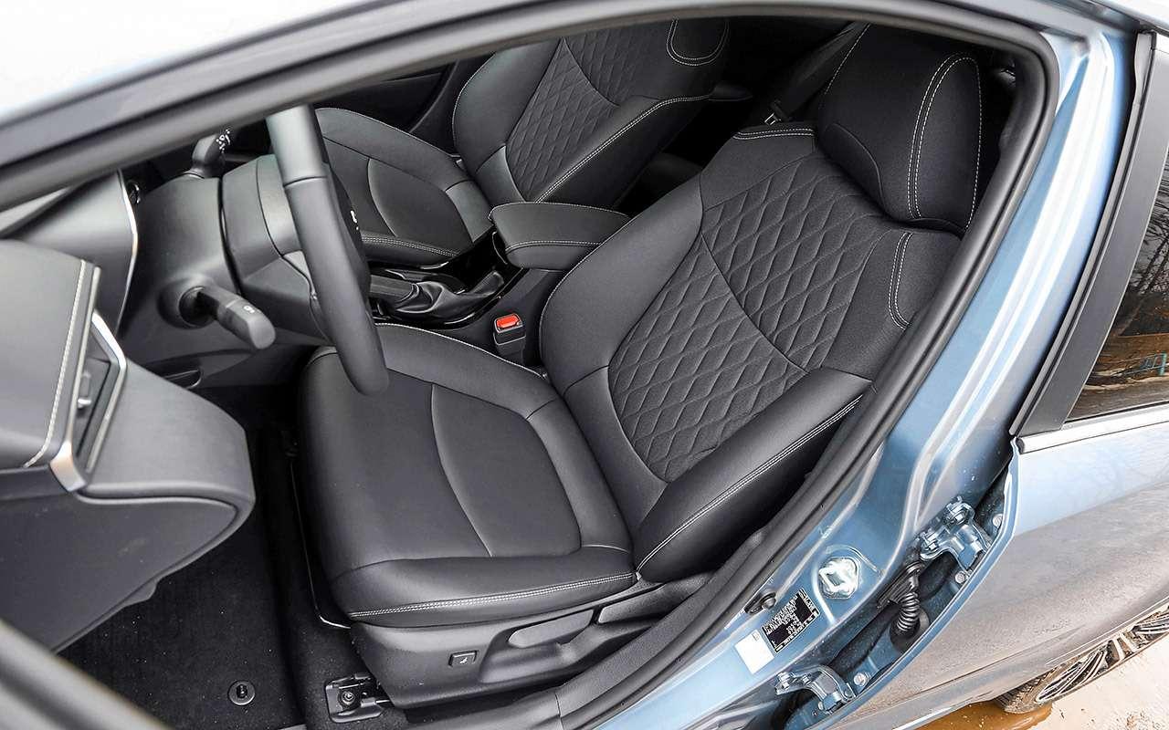 Новые Corolla иElantra плюс С4: большой тест седанов С‑класса— фото 970547