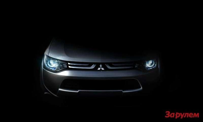 Новый Mitsubishi покажут вЖеневе