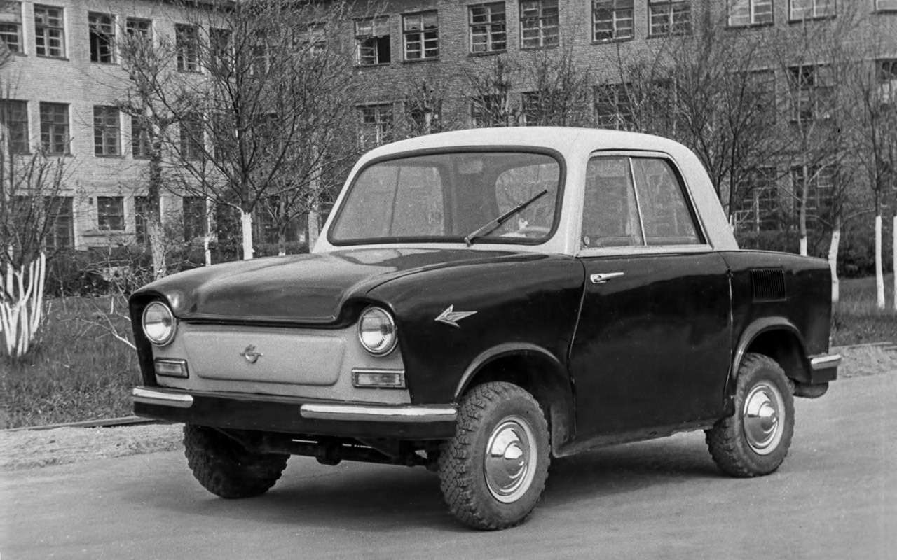 Народные автомобили СССР: вот кто был доЗапорожца!— фото 1253116