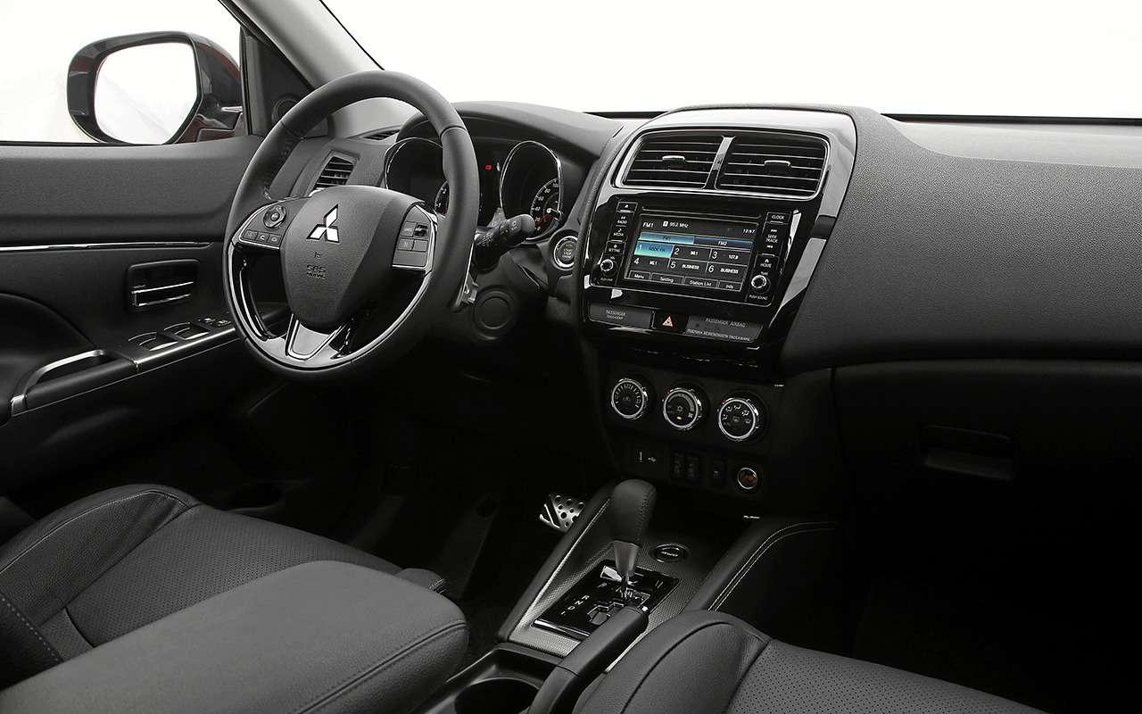 Обновленный Mitsubishi ASX в7-ми вопросах иответах— фото 820866