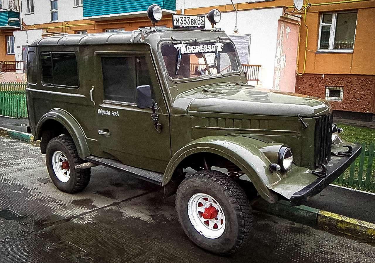 Цельнометаллические ГАЗ-69