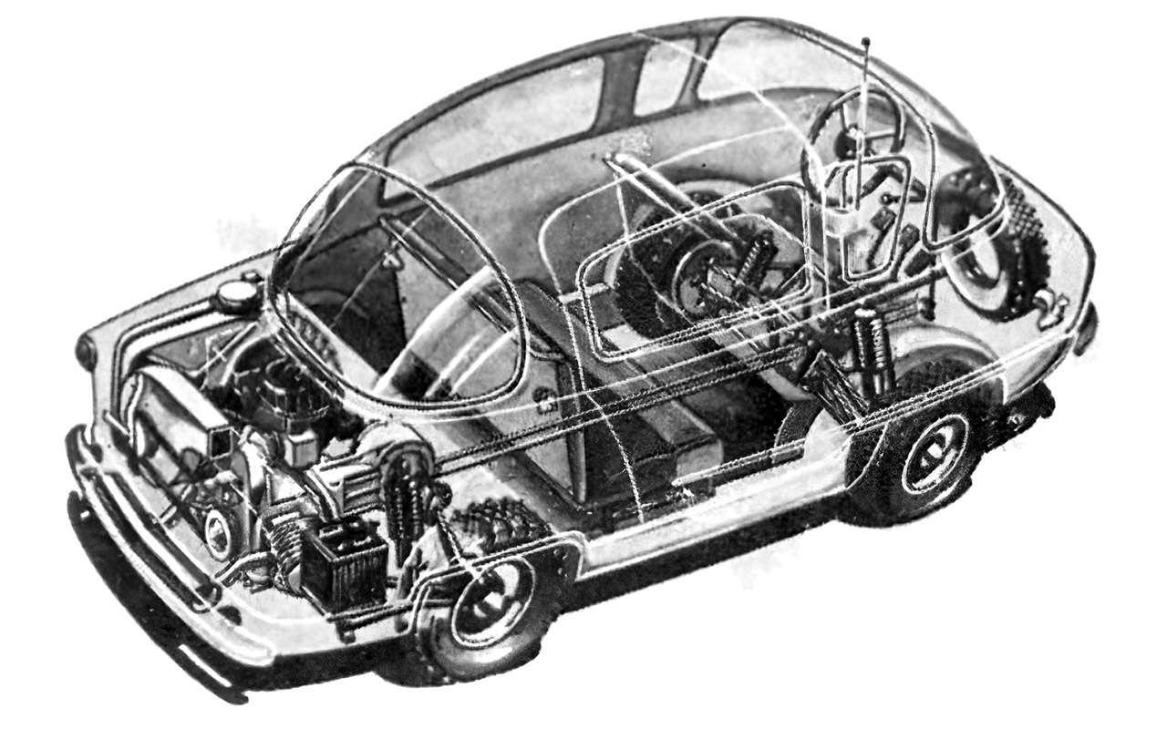 Народные автомобили СССР: вот кто был доЗапорожца!— фото 1253111