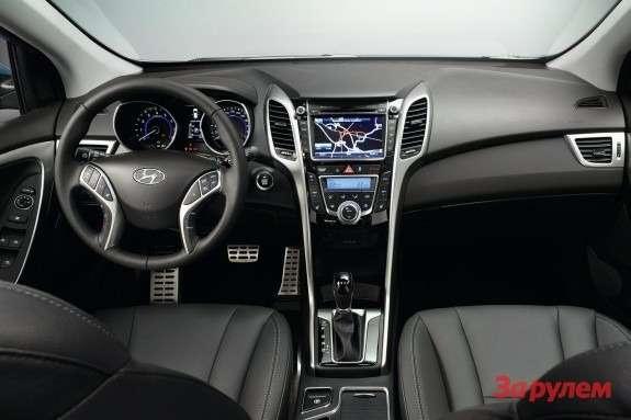 Hyundai i30 inside