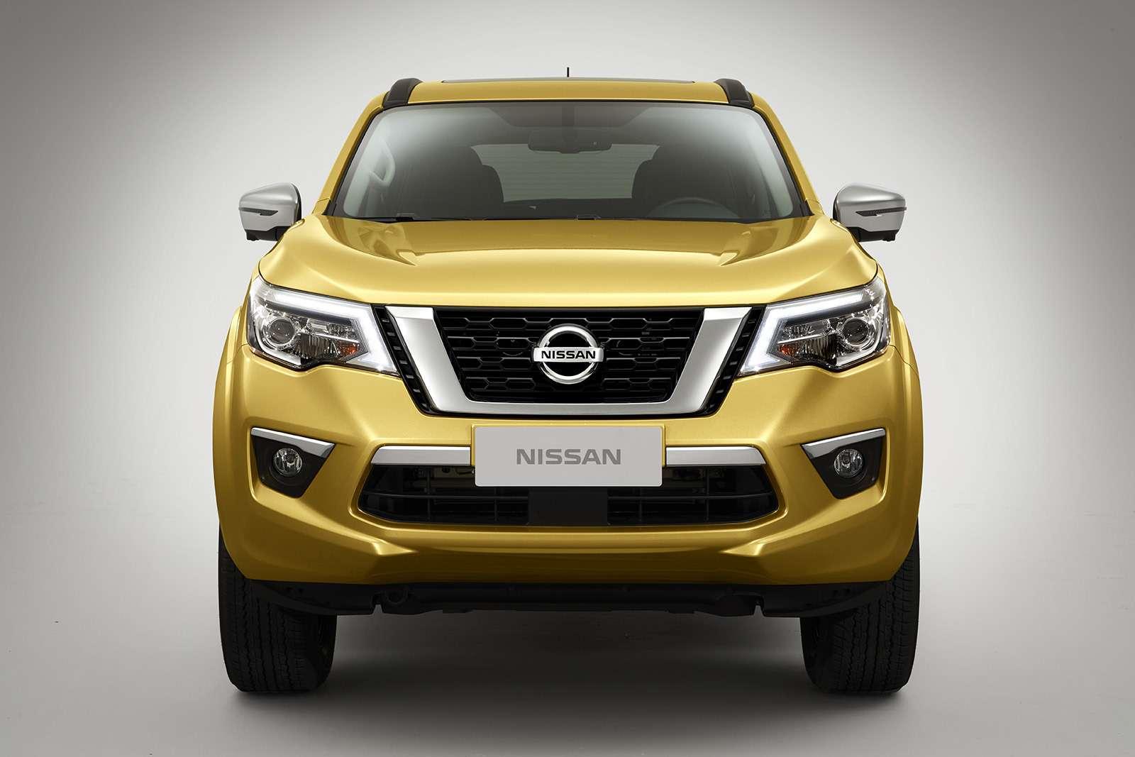 Nissan Terra— конкурент Toyota Fortuner— фото 848517