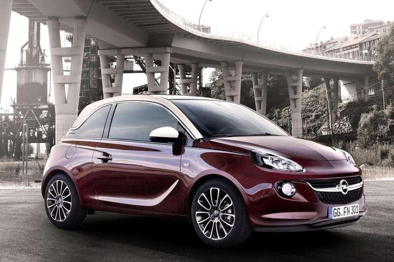 Opel Adam side-front view