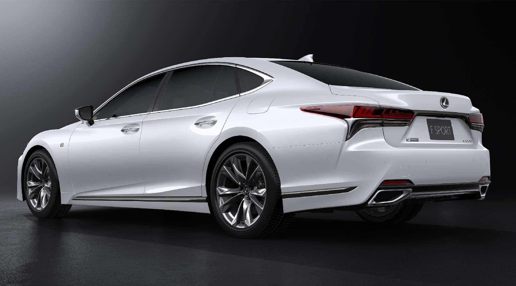 Выход третий, спортивный: Lexus LSFSport отпразднует премьеру вНью-Йорке— фото 735342