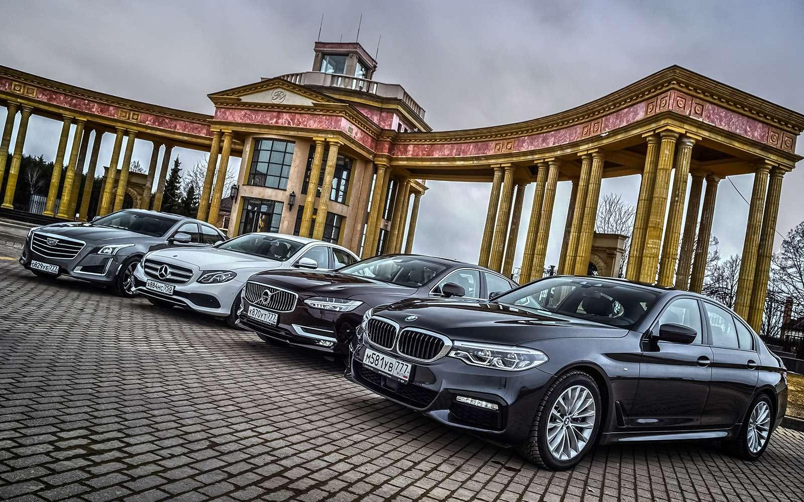 BMW5-й серии против конкурентов: кто напять?— фото 743812