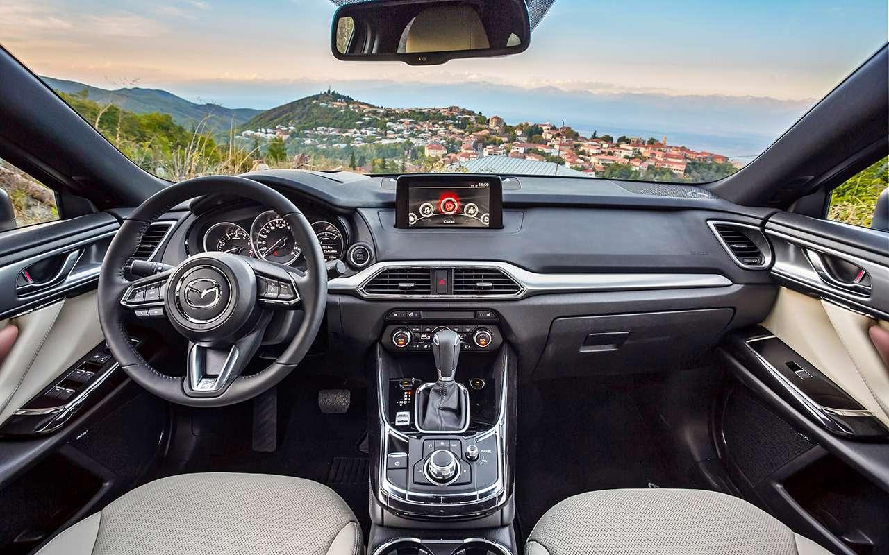 Тест-драйв нового кроссовера Mazda CX-9: сядут все!— фото 823760