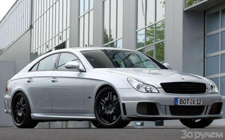 Тюнинг Mercedes-Benz. Рекордсмен— фото 66336