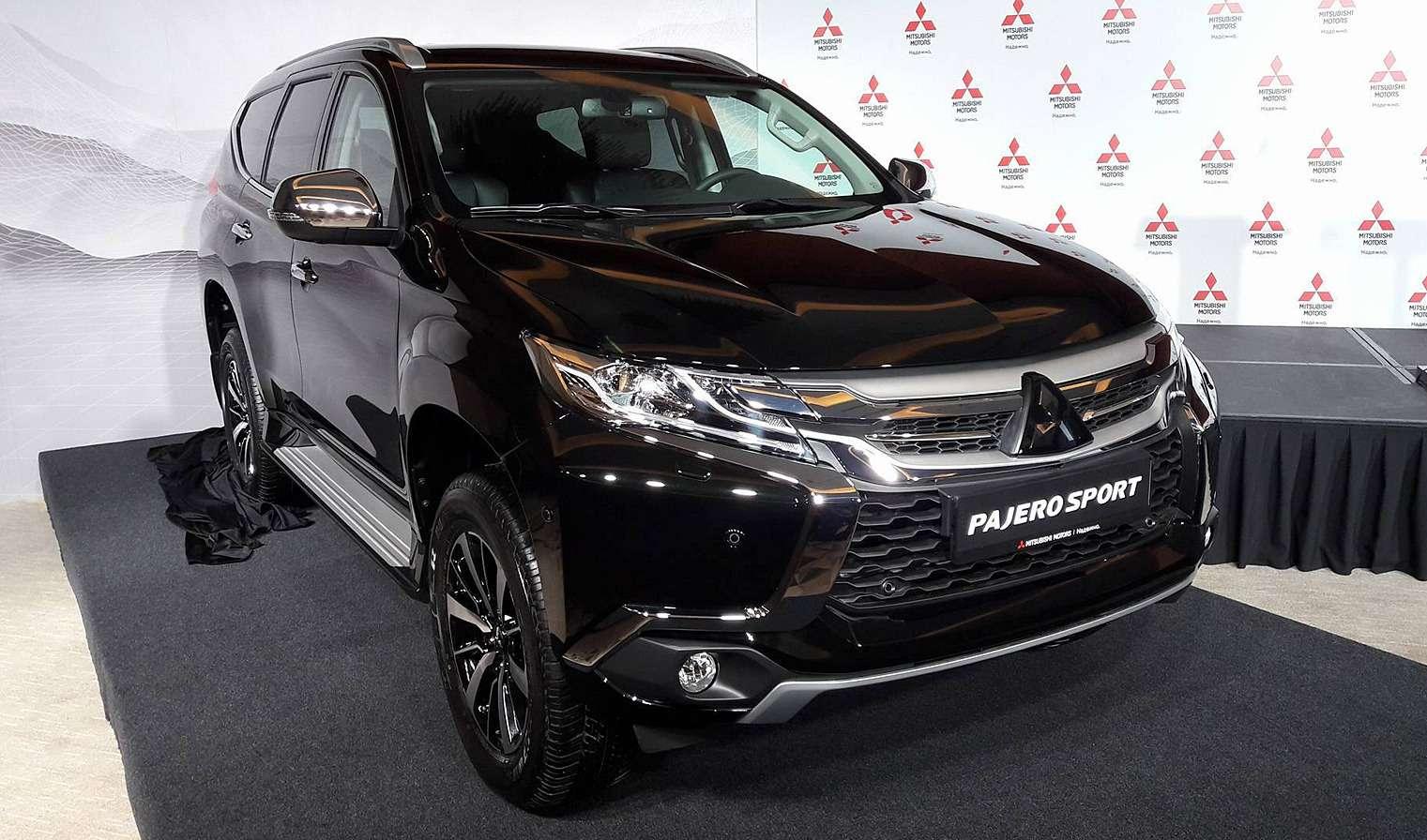 Mitsubishi вноябре начнет собирать новый Pajero Sport вКалуге— фото 796036