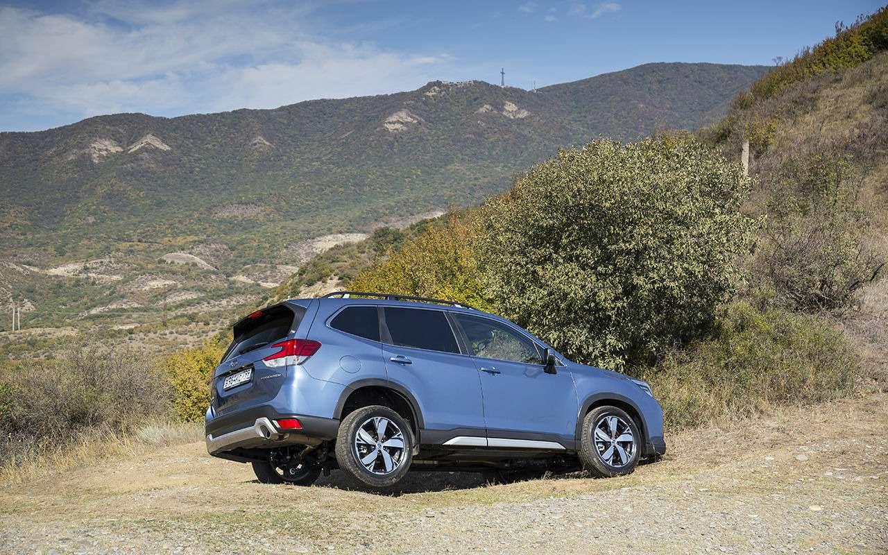 Subaru Forester 2019: больше никаких турбонаддувов!— фото 912604