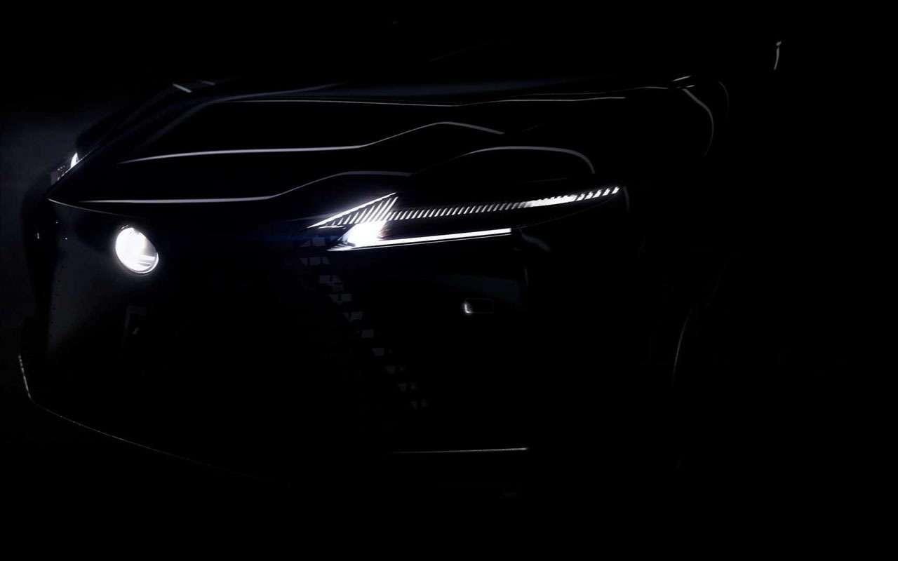 Lexus меняет дизайн— первое фото концепта— фото 1220642