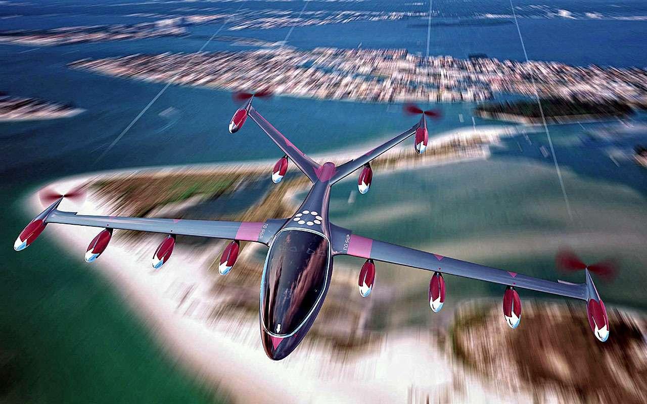 электрический S2разработки фирмы Joby Aviation