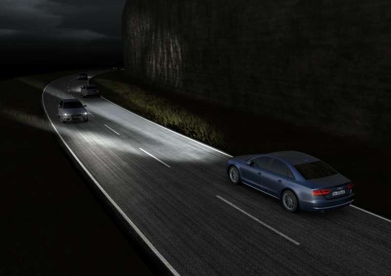 Audi Matrix LED Scheinwerfer