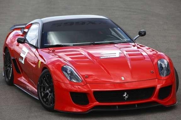 Ferrari 599XX front view