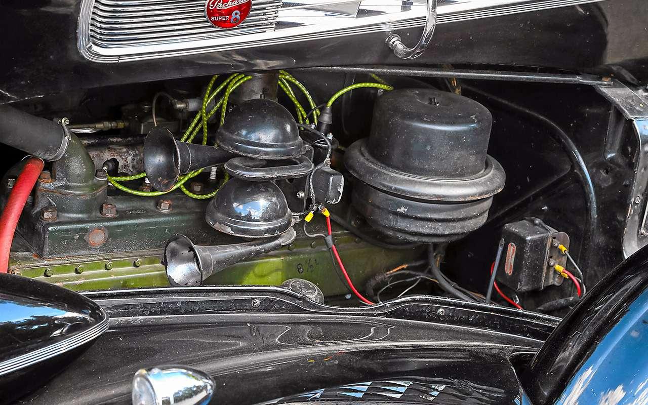 Packard Super Eight 1939: связей сэтим иностранцем можно небояться!— фото 893702