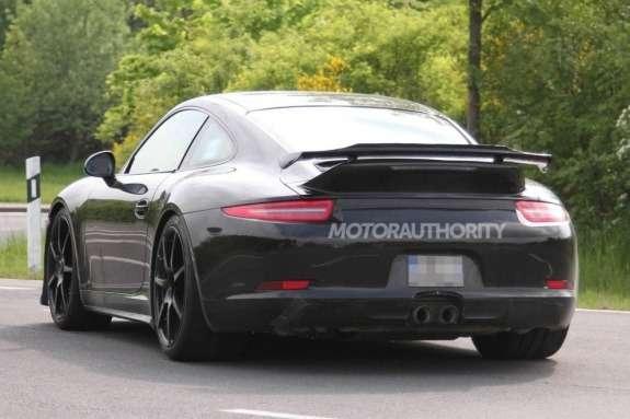 Porsche 911GT3 rear view