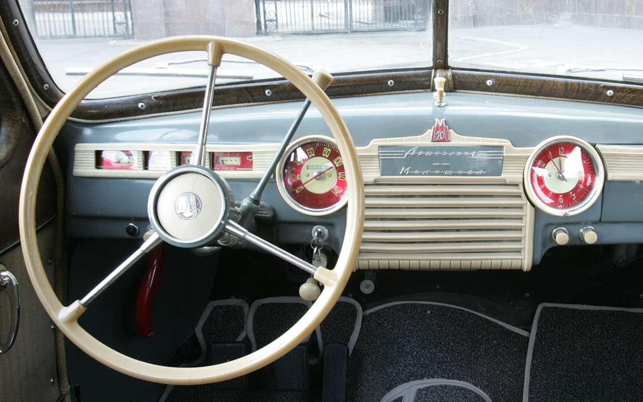 Седан для парткома: удивительная история ГАЗ‑12 ЗИМ - фото 1172416