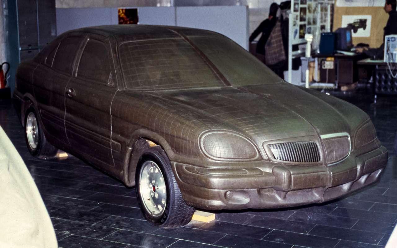 ГАЗ‑3103и другие Волги, которых никто неувидел— фото 946640