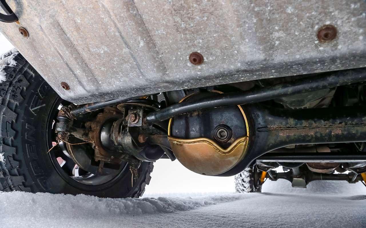 Land Rover Defender: тест сразницей в40лет— фото 1247862
