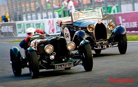 Гонки LeMans classic: «Астон-Мартина Ольстер» 1934 года и«Бугатти-44» 1929-го