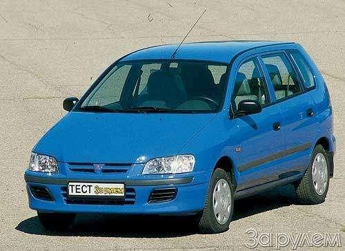Тест Citroen Xsara Picasso, Mitsubishi Space Star, Mazda Premacy, Renault Scenic. Семейный квартет.— фото 20445