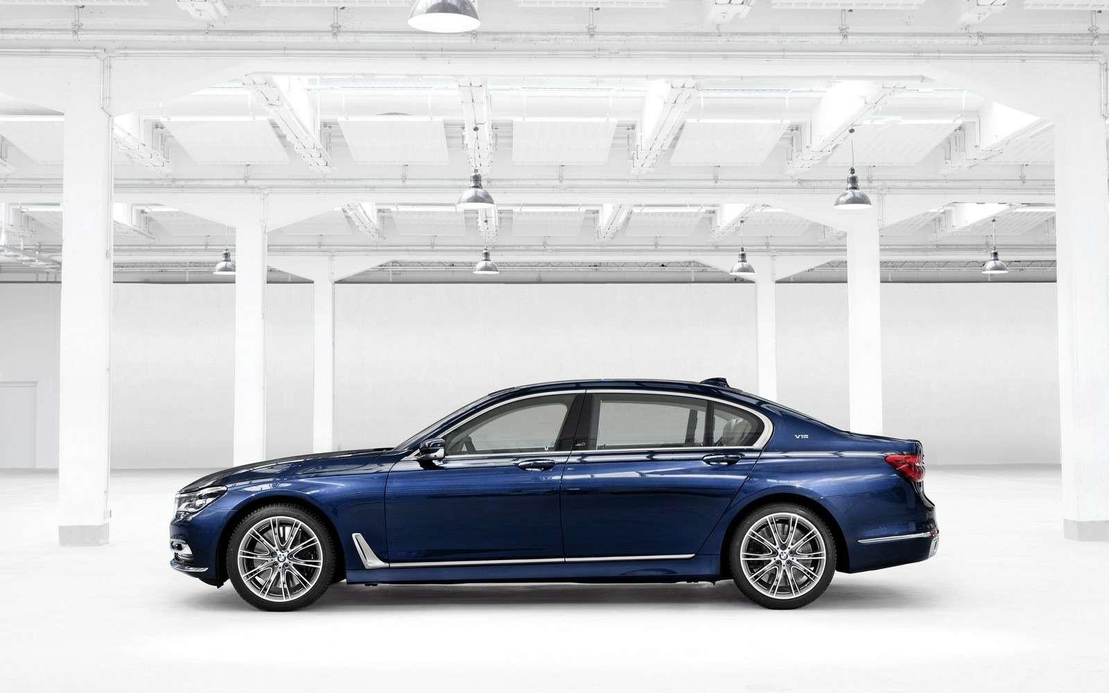 BMWвыпустит юбилейную «семерку»— фото 577986