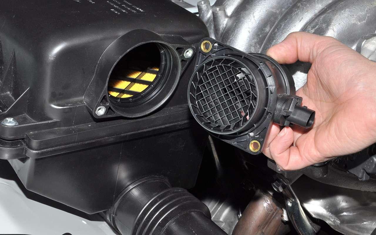 Почему плавают обороты двигателя?— фото 839157